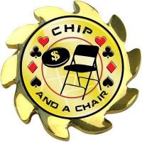 Best Chip & a Chair Graphic Spinner Poker Card Cover wholesale