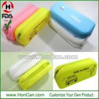 China Silicone Pencil Bag on sale