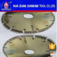 China Angle Grinder Diamond Blade Electroplated Cutting Disc For Tiles on sale