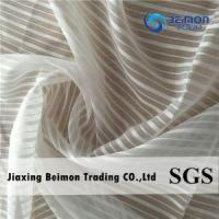 China 100%polyester Yarn Dye Slubbed Fabric on sale