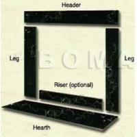 Buy cheap 1.Fireplace Surround Surround Set from wholesalers