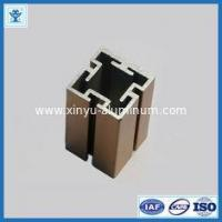 Buy cheap Alloy square aluminum extrusions T5 / T6 with 6061 / 6063 grade from wholesalers