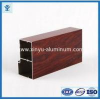 Buy cheap Wood Grain Transfer Aluminum Profile for Door from wholesalers