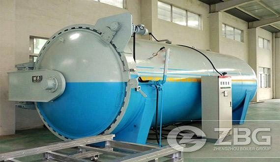 Cheap front loading autoclave india price for sale