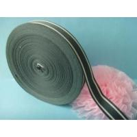 Best Custom 2 colors woven striped ribbons wholesale