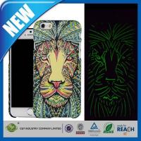 Best C&T Lion Aztec Animal Faces Luminous Effect Fluorescent Glow in the Dark Back Cover for iPhone6 wholesale