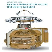 Best BS Single Jersey Circular Knitting Machine With Open Width wholesale