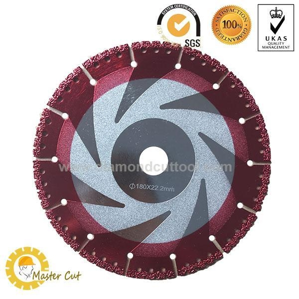 China General purpose vacuum brazed diamond rescue blades for firefighter