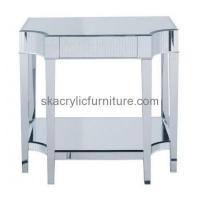 China Customized acrylic lucite trunk coffee table modern home furniture storage end tables AT-151 on sale