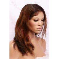 Best Alexa T-#2/#30 Natural Straight Full Lace wig in 14 inches wholesale