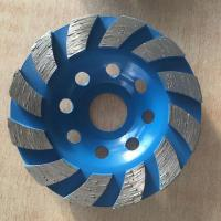 Continuous cup wheel
