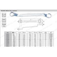 Double offset ring spanner 06301