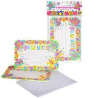 Best Spring Butterfly Party Invitations, pk/10 wholesale
