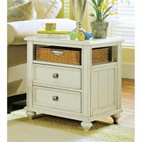 China american drew camden wood storage end table in buttermilk antiques antique end tables and on sale