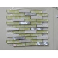 Mosaic Travertine Mixed Painting Resin Mosaic Tile Sheets for Wall Decorate