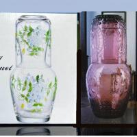 China Spirit Glasses Hand Made Hot Sale Glass Carafe With Tumbler Cup Set on sale