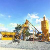 China 25 No Foundation Concrete Mixer Station on sale