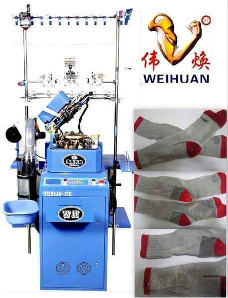 Cheap 3.75'' 7f Computerized Select Terry Sock Knitting Machine for sale