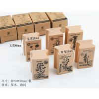 Buy cheap Paper items Wood stamps from wholesalers