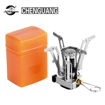 China Outdoor gas stove convenient triangle split air furnace camping picnic stove cooking equipment