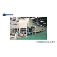 The product name: Melamine paper glue dipping machine