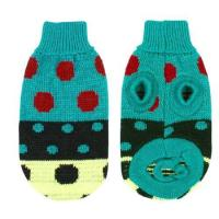 Buy cheap Apparel Como Pet Dog Chihuahua Yorkie Clothes Sweater Apparel Teal Green Winter Knitwear XS from wholesalers