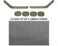 Buy cheap BLACK OUT KIT-FRONT AND REAR-CARBON FIBER-91-96 from wholesalers