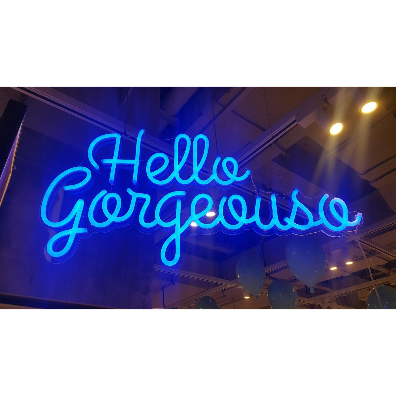 Buy cheap Hanging led neon light letters from wholesalers