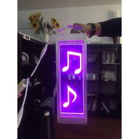 Buy cheap LED acrylic light guide plate(LGP) colorful musical note from wholesalers