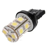 Buy cheap T20 13 SMD 5050 Red Stop Tail Brake 13 LED Car Light Bulb Lamp w21/5w led from wholesalers