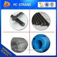Buy cheap DCL certification prestressed concrete steel strand from wholesalers