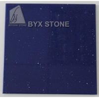 Buy cheap Blue Quartz Counter Slabs for Bathroom Worktop Kitchen Countertops from wholesalers