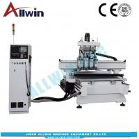 Buy cheap 4 head vacuum table engraving cnc router 1300x2500x200mm from wholesalers