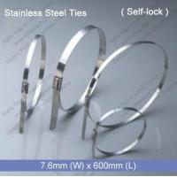 Buy cheap E1281 Stainless Steel Tie (7.6mm x 600mm) from wholesalers