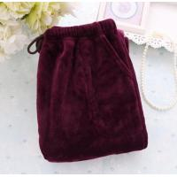 Buy cheap Solid Coral Fleece Pants from wholesalers