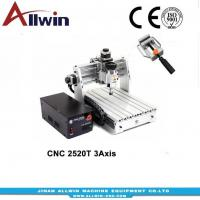 Buy cheap MINI 3 axis CNC 2520 router from wholesalers