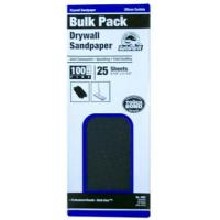 Buy cheap Drywall Sandpaper, Medium 100-Grit, 4.5 x 11.25-In., 25-Ct. from wholesalers