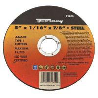 Buy cheap Cutting Wheel, Type 1, 5 x 1/16-In. from wholesalers