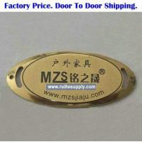 Buy cheap E1031 Brass Name Plates For Furniture from wholesalers