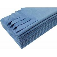 Best Eurow 16 x 16in 350 GSM Premium Ultrasonic Cut Cleaning Towels 12Pk Light Blue wholesale