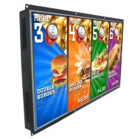 """Standalone LCD Display 55"""" Open Frame LED Commercial LCD Digital Signage Display"""
