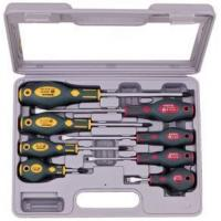 8PCS GS SCREWDRIVER W/BLOWMOLD CASE