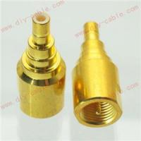 China FME male plug to SMB male plug gold plated RF adapter connector on sale