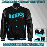 Buy cheap CLEARANCE GEEKS Gamma 12 Varsity Jacket to match theJordan 12 Gamma Blue from wholesalers