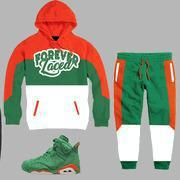 Buy cheap CLEARANCE Forever Laced Sweatsuit to match Jordan 6 Gatorade Sneakers from wholesalers