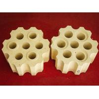 Buy cheap Abnormal Shape Refractory Brick 7 Hole Lattices Brick from wholesalers