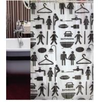 Buy cheap POLYESTER SHOWER CURTAIN YL803-1 from wholesalers