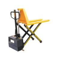 Buy cheap Electric high lift scissor pallet truck from wholesalers