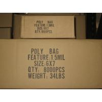 Buy cheap Flat poly bags from wholesalers