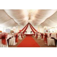 Buy cheap 25x80m Transparent PVC wedding tent from wholesalers